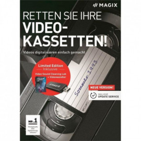MAGIX Logiciel SOS Cassettes vidéo ! - Box - FR