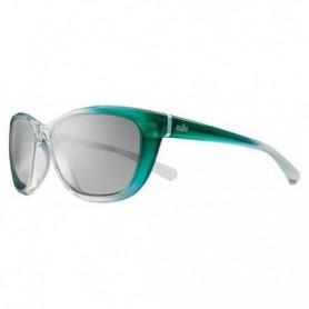NIKE Lunettes de soleil Gaze - Mixte - Vert / Blanc