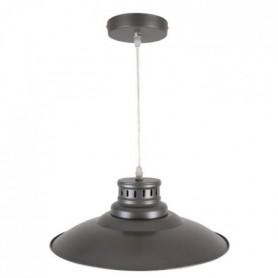 ADELE Lustre - suspension en métal E27 60W étain