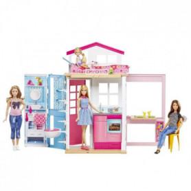 BARBIE - Barbie & Sa Maison - 1 poupée Incluse