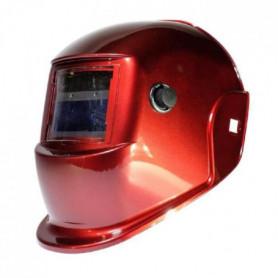 AWELCO Cagoule de soudure LCD rouge a teinte variable