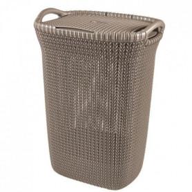 CURVER Coffre à linge 57 L - Aspect tricot