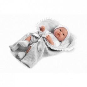 ARIAS Poupon Real Baby avec couverture - 42 cm