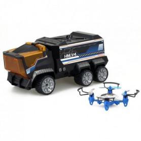 SILVERLIT - Camion Radiocommandé & Drone Mission