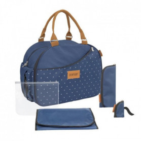 BADABULLE Sac a langer Weekend - Bleu