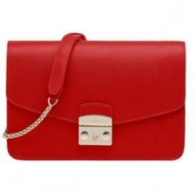 FURLA METROPOLIS Sac cartable ARES Rouge