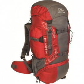 Highlander Discovery 65 Sac a Dos Rouge