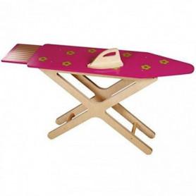 JB BOIS Table a repasser 25x94x50 cm Rose