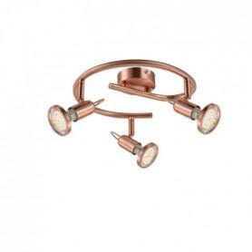 GLOBO LIGHTING Spot LED  - Ø 25 x H 13 cm - Cuivre