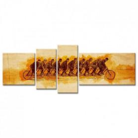 Tableau Déco Illusion Vintage - 160x60 cm