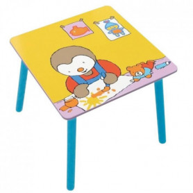 Fun House T'choupi table carree pour enfant