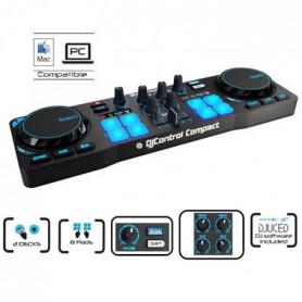 HERCULES DJControl Compact Table de mixage 2 voies