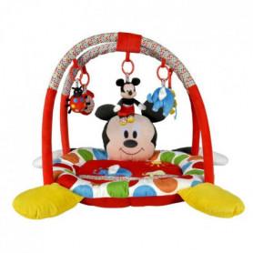 DISNEY BABY Tapis de jeu Mickey Rouge