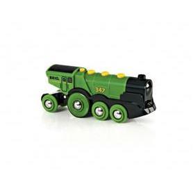 BRIO World  - 33593 - Locomotive Verte Puissante