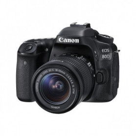 CANON Reflex EOS 80D + 18-55MM F/3.5-5.6 IS STM