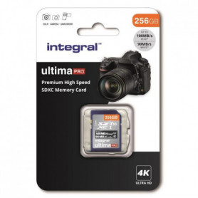 INTEGRAL MEMORY Premium High Speed SDHC/XC V30 UHS-I U3
