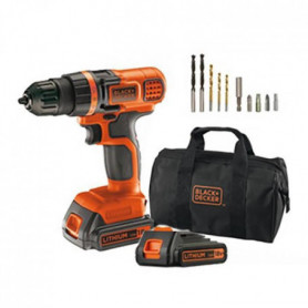 Black & Decker EGBL18BA10S Perceuse Visseuse Sans fil