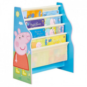 PEPPA PIG - Bibliotheque à pochettes pour enfants