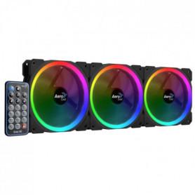 AEROCOOL Pack de 3 Ventilateurs pour boitier PC