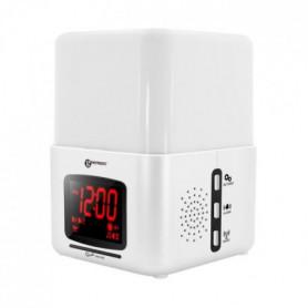 GEEMARC Radio-Réveil avec vibreur et luminothérapie