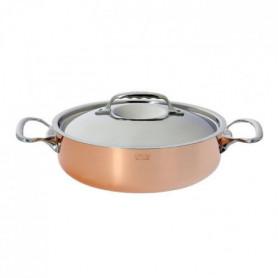 DE BUYER Sautoir cuivre inox - Ø 28 cm
