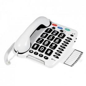 éphone fixe grosses touches sénior amplifié CL 100