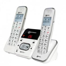 GEEMARC Téléphone fixe grosses touches sénior AMPLIDECT 295-2