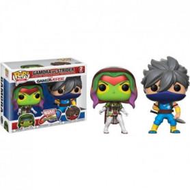 2 Figurines Funko Pop! Marvel: Gamora vs Strider