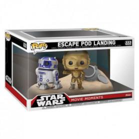 2 Figurines Funko Pop! Star Wars: Escape Poo Landi
