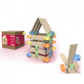 LUDUS- Woody Junior - Jeux assemblage en bois - Mi