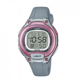 CASIO Montre Basic Gris et Rose Enfant