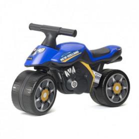 FALK Porteur Enfant Moto New Holland