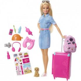 BARBIE - Barbie Voyage - Coffret Poupée Mannequin