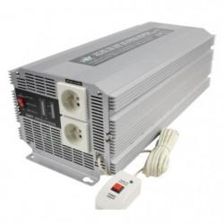 HQ Convertisseur 2500 W 12 V en 230 V