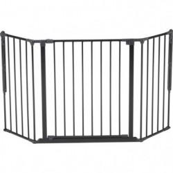 BABY DAN Barriere de sécurité Flex M - Bébé mixte - Noir