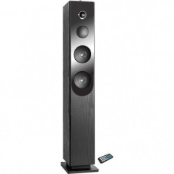 INOVALLEY HP33-CD Tour de son Bluetooth - Lecteur CD - Noir