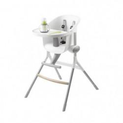BEABA Chaise haute bébé Up&Down grey/white