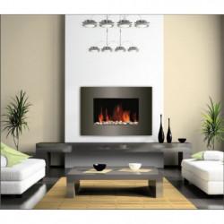 CARRERA Luna 1800 watts Cheminée électrique décorative