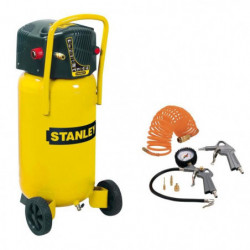 STANLEY Compresseur vertical 50 L 2 CV 10 bars