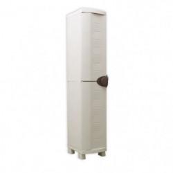 SPACESAVER 35 PLASTIKEN Armoire haute 1 Porte avec étageres