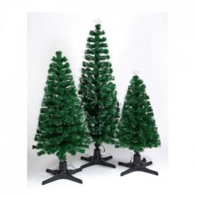 Sapin de Noël lumineux 210 branches Vert 180 cm