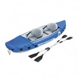 BESTWAY Kayak Gonflable Lite-Rapid 2 places + rames