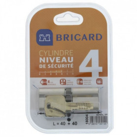 BRICARD SERIAL XP 18004 Cylindre 40+40 mm