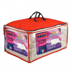 DODO Pack Microtouch - 1 couette 240x260 cm + 2 oreillers