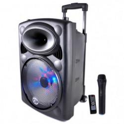 MYDEEJAY PICKY 10 Enceinte Autonome LED Bluetooth USB 500W