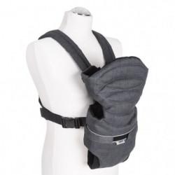 HAUCK porte bébé 2 way carrier - melange charcoal