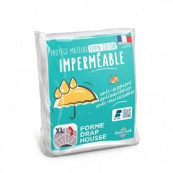 SWEETHOME Protege-matelas 100% coton - Imperméable