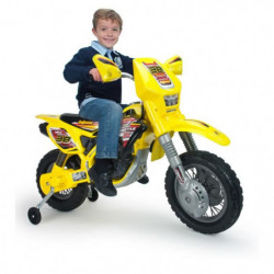 INJUSA Moto électrique enfant Cross Drift Zx 12 volts