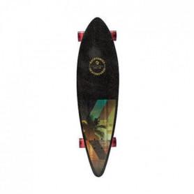 "KRYPTONICS Skateboard Longboard Pintail Slanted 37"""