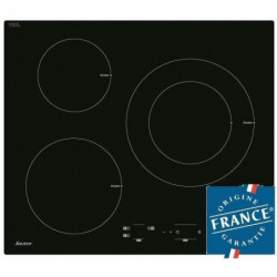 SAUTER SPI4300B Table de cuisson Induction - 3 zones - 7200W